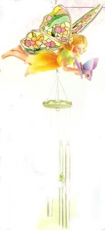 Amia 9624 Daffodil Fairy Windchimes