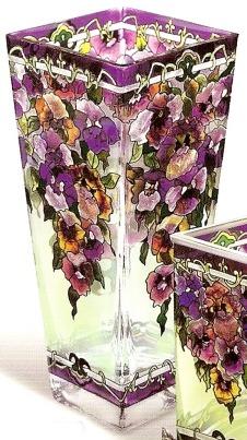 Amia 9670 Pansy Vase Flared
