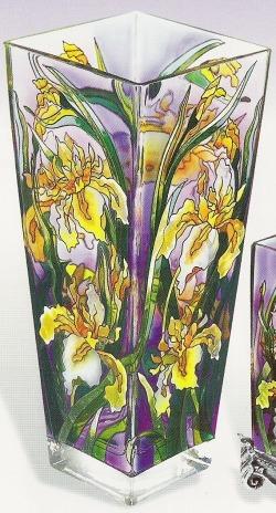 Amia 9674 Iris Large Vase - Flared