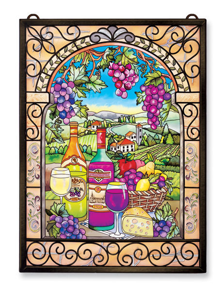 Amia 9717 Great Vintages Glass Panel