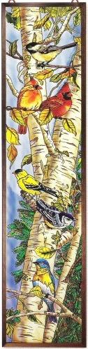 Amia 9727 Songbird Favorites Glass Panel