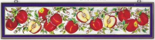 Amia 9780 Apple Orchard Window Panel