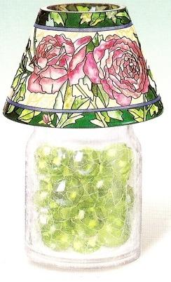 Amia 9901 Cabbage Rose Jar