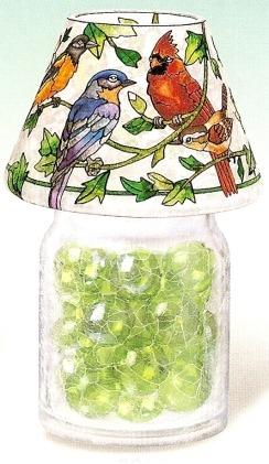 Amia 9904 For the Birds Jar