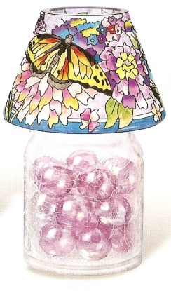 Amia 9907 Butterfly Jar