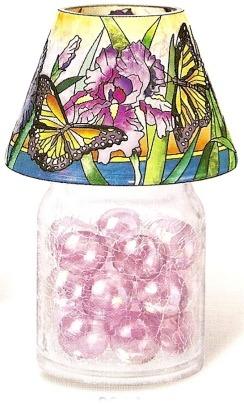 Amia 9911 Iris Butterfly Jar