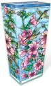 Amia 40029 Cottage Garden Hollyhocks Large Vase