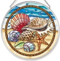 Amia 40059 Seaside Shells Medium Circle Suncatcher