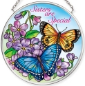Amia 40071 Sisters Are Special Small Circle Suncatcher