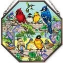 Amia 41046 Rail Birds Beveled Medium Octagon Panel