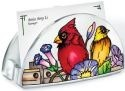 Amia 41060 Rail Birds Acrylic Business Card Holder
