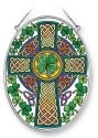 Amia 41353 Celtic Knot Medium Oval Suncatcher