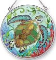 Amia 41412 Sea Life Turtle Medium Circle Suncatcher