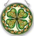 Amia 41500 Celtic Leaf Small Circle Suncatcher