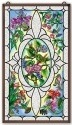 Amia 41657 Hummingbird Glass Panel