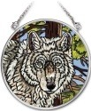 Amia 41732 Wolf Pack Small Circle Suncatcher