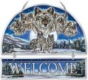 Amia 41737 Wolf Pack Beveled Welcome Panel