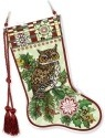 Amia 41780 Christmas Owls Stocking Suncatcher