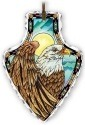 Amia 41830 Eagle Small Arrowhead Suncatcher