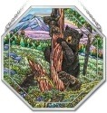 Amia 41840 Bears Beveled Medium Octagon Panel