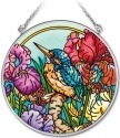 Amia 41915i Kingfisher Medium Circle Suncatcher
