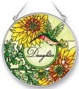 Amia 42063 Daughter Medium Circle Suncatcher