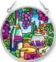 Amia 42090 Wine Country Small Circle Suncatcher