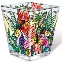 Amia 42129 Daylilies & Associates Petite Votive Holder