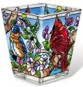 Amia 42143 Birds & Blossoms Petite Votive Holder