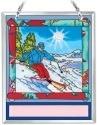 Amia 42196 Ski Souvenir Suncatcher