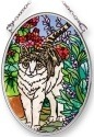 Amia 42256 Soft Purr Small Oval Suncatcher