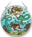 Amia 42271 Mermaids Medium Circle Suncatcher