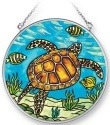 Amia 42272 Sea Turtle Medium Circle Suncatcher