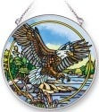 Amia 42282i Eagle Medium Circle Suncatcher