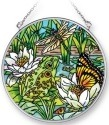 Amia 42290 Pond Critters Medium Circle Suncatcher