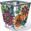Amia 42360 Frilly Floral Petite Votive Holder