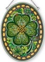Amia 42367 Emerald Isle Medium Oval Suncatcher