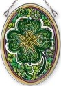 Amia 42368 Emerald Isle Small Oval Suncatcher