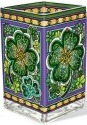 Amia 42369 Emerald Isle Rectangular Vase Votive Holder