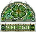 Amia 42372 Emerald Isle Beveled Welcome Panel