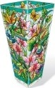 Amia 42381 Hummingbirds Orchard Vase Large