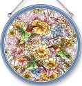 Amia 42422 Hummingbird Delights Large Circle Suncatcher