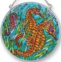 Amia 42444 Seahorses Medium Circle Suncatcher