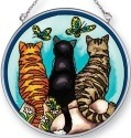 Amia 42447 Cats and Co Medium Circle Suncatcher