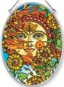 Amia 42454 Autumn Sun Medium Oval Suncatcher