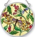Amia 42476 Dragonfly Dance Small Circle Suncatcher