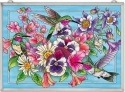 Amia 42516 Hummingbirds Alight Panel