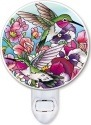 Amia 42526 Hummingbirds Alight Night Light Nightlight
