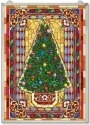 Amia 42527 Mosaic Christmas Tree Panel