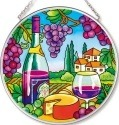 Amia 42531 Wine Country Medium Circle Suncatcher